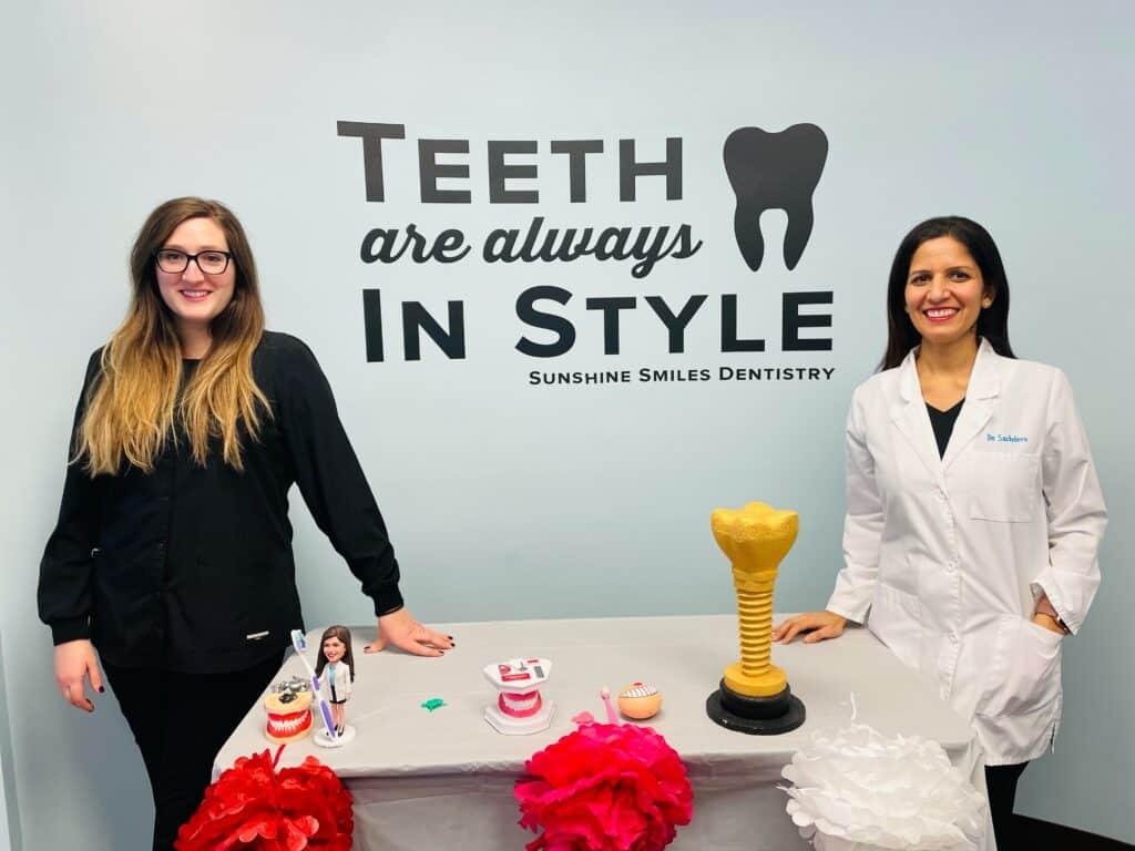 Sunshine Smiles Dentistry - Dentist near Sandy Springs, GA - educating children about oral health at a local school near Sandy Springs, GA