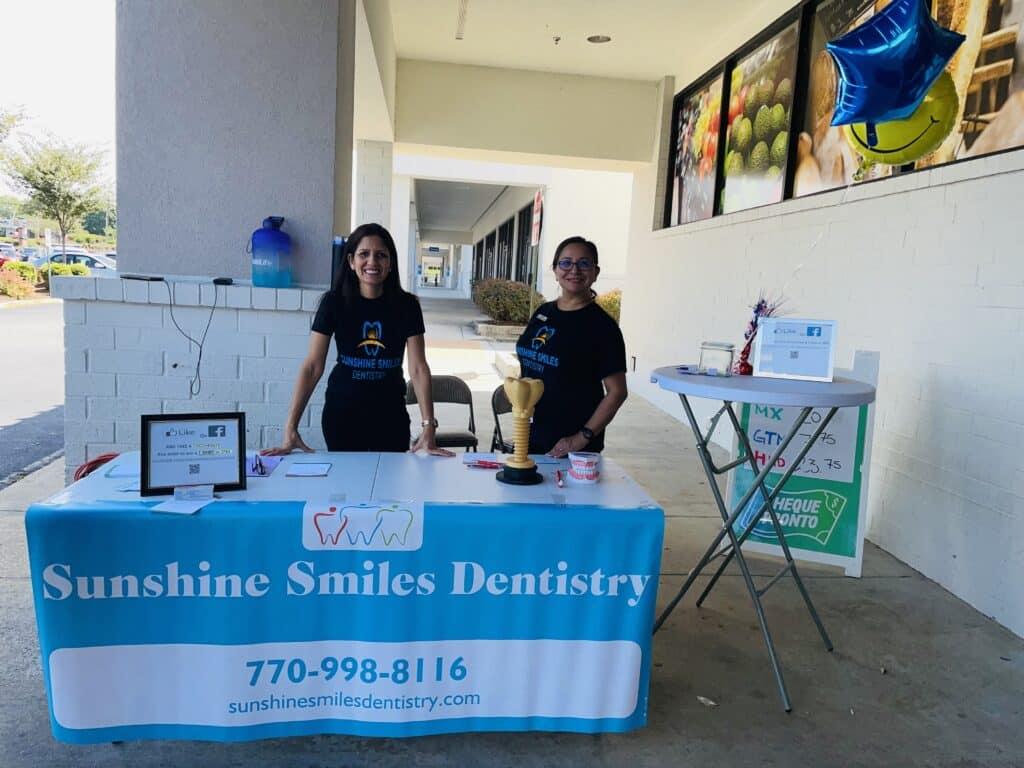Sunshine Smiles Dentistry - Dentist Roswell Georgia: at Carniceria 3 Hermanos in Roswell, Georgia